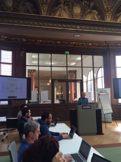 Paris meeting at Mozilla